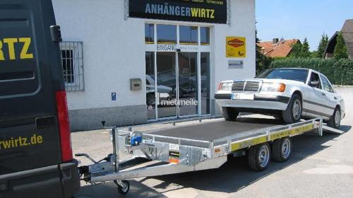 KFZ Transporter/Transportanhänger 4m 2.700kg