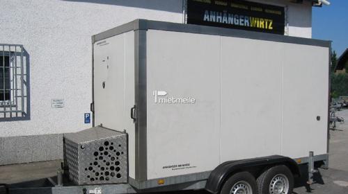 Kühlkoffer 3m +2°C / 220Volt, abschließbar