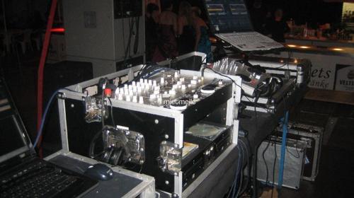 Tontechnik / DJ-Rack