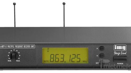 Funk Mirkrofon / UHF-Frequenzen (863-865 MHz)