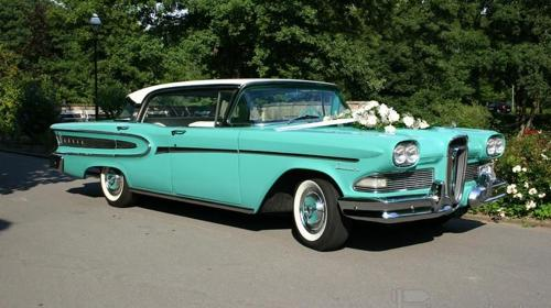 Ford Edsel Citation, 1958, türkis/weiß
