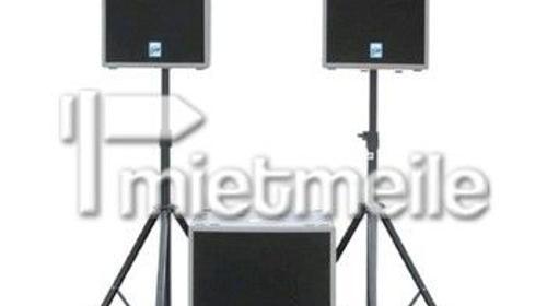 Profi Lautsprecher für ca 130 Personen