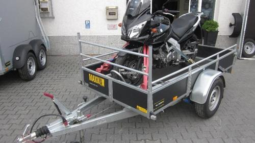 Motorrad Transportanhänger für 1 Motorrad