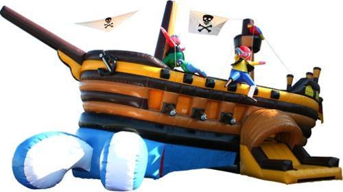 Captain Hooks Piratenschiff inkl Betreuer (6 Std.)