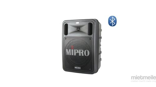 Mobile Akku Beschallungsanlage / mobiler Lautsprecher mit Akku, Handmikrofon oder Headset