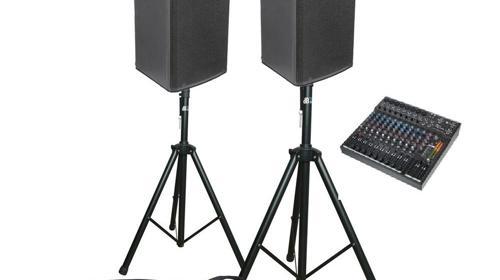 500W Gesangs- und Konzertanlage, Musikanlage, Tontechnik, Tonanlage, Box mieten