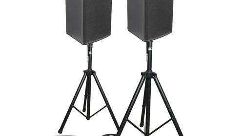 500W Lautsprecher Musikanlage, Tontechnik, Partyanlage, Partyset, PA Anlage, Tonanlage, Box mieten