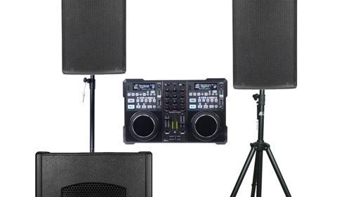 2000W DJ-Musikanlage, Tontechnik, Partyanlage, Partyset, PA Anlage, Tonanlage, Box mieten