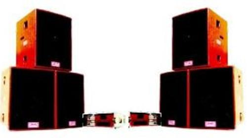PA Komplettset Tonanlage Lautsprecher