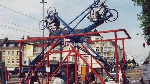 Bike Loop, der Überschlag mit dem Fahrrad