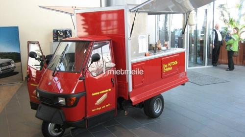 Hot Dog Wagen - Hotdog Catering - Full Service Angebot inkl. allem