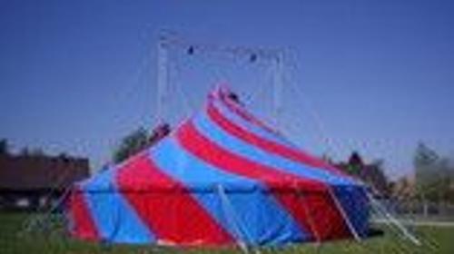 Rundes 2-Mast Zirkus- und Partyzelt