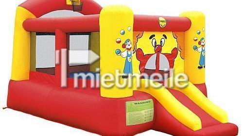 """Hüpfburg Clown """"Mona"""" 360x245x230 cm mit Rutsche"""