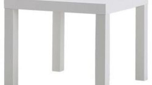 Loungetisch, Beistelltisch, weiß