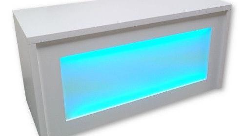 Theke / Bar mit LED-Bleuchtung