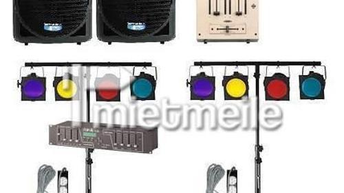 Partyset : Licht - und Ton Set für Party