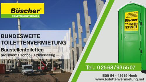 GRATIS Lieferung ✔ deutschlandweit: Baustellentoilette | stilles Örtchen | anschlussfreie Toilette | bauklo24.de
