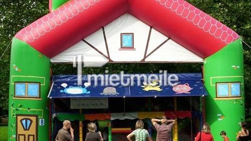 Mobiles Spiel- & Spaßhaus