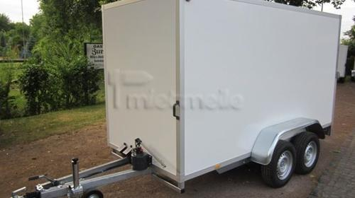 Geschlossener Koffer 3,50m absenkbar