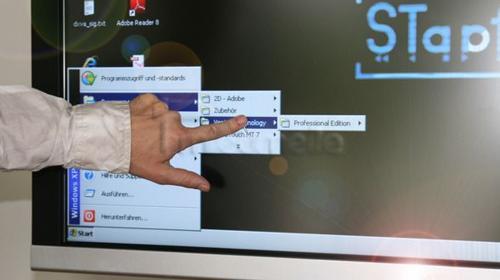46 Zoll HD Touchscreen