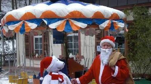 """Vermietung Karusselle - """"Kettenkarussell Weihnacht"""