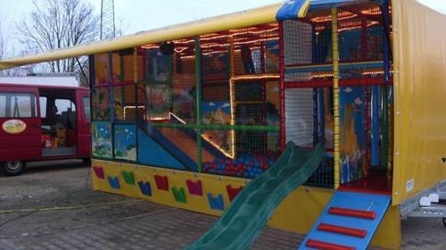 """Vermietung Spielmobil - """"Spielmobil Dschungel"""""""