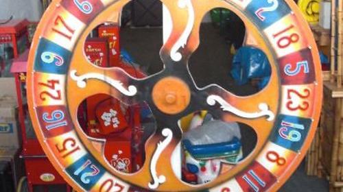 """Vermietung Gewinnspiele - """"Nostalgieglücksrad"""""""