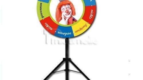 """Vermietung Gewinnspiele - """"Glücksrad Clown"""""""