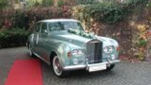 Hochzeitsauto - Oldtimer Rolls Royce mit Chauffeur