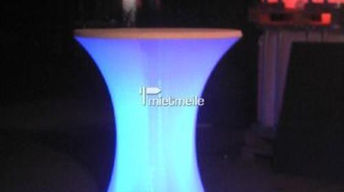 LED-Stehtischbeleuchtung mit Akku für 80cm Stehtis