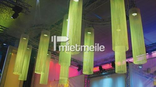 Fadenvorhang 2,5m mit Halterung