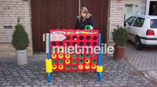 Vier Gewinnt - Jumbo Spielgerät 122x57x117cm,