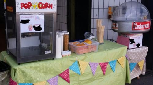 Zuckerwatte Popcorn Maschine Vermietung Mieten *TOP Konditionen*