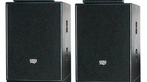 Lautsprecherboxen Verleih PA-Anlage Aktiv 3600W