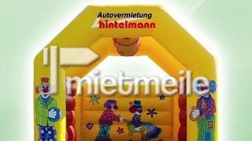 Hüpfburg (mit Dach)