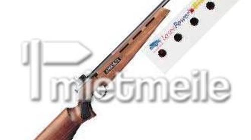 Laser Gewehr mit Biathlon Zielanlage
