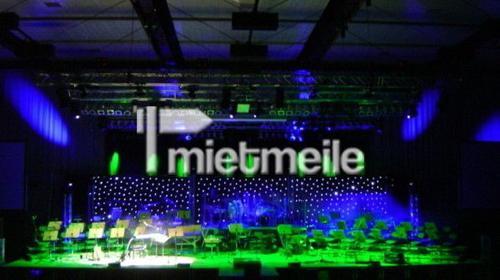 LED-/Sternevorhang/weiss 6x3m Deko Bar Tresen
