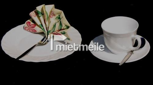 Kaffeegedeck, komplett / Kaffeetassen