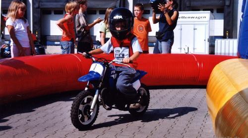 Mini Motorradbahn