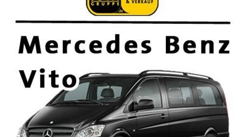 Vito Mercedes Bus, 8 sitzer Kleinbus, Automatik