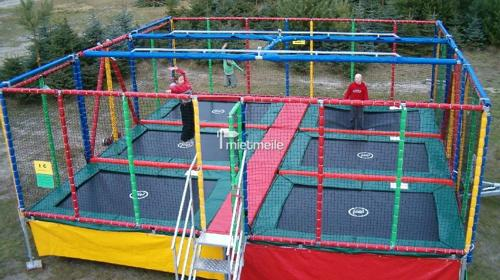 6 Feld Trampolin Mobil, Kindertrampolin
