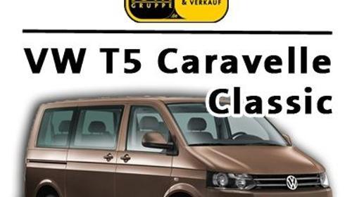 VW T5 Caravelle Classic 9-sitzer Kleinbus