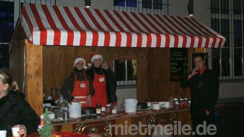 Weihnachtsmarkthütte, marktbude leihen, mieten