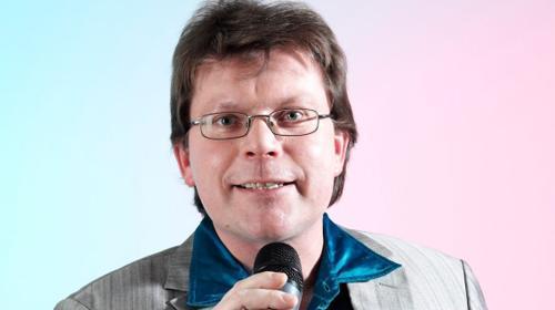 Moderator Frank Wunderlich