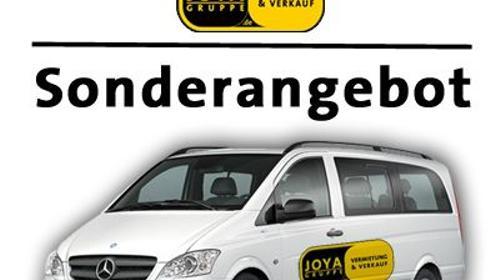 9sitzer VW Bus+++CITY TARIF+++inkl. 100 Frei/km