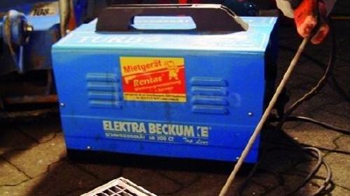 Schweißgerät, Elektro 230 V