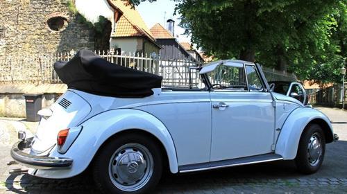 VW Käfer Cabrio zum Selbstfahren *** Kult-Auto***