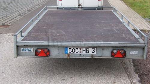 Autotransportanhänger SARIS PA 32  2,7 t Plataeu