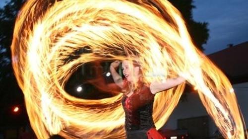 Feuershow, Hochzeitsfeuershow Ambrosia Van Serpens