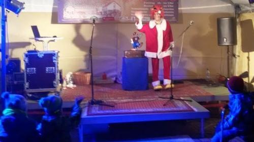 Show, Weihnachtsmann, Engel, Clown